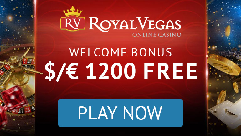 Royal Vegas - PACHET BONUS $1200